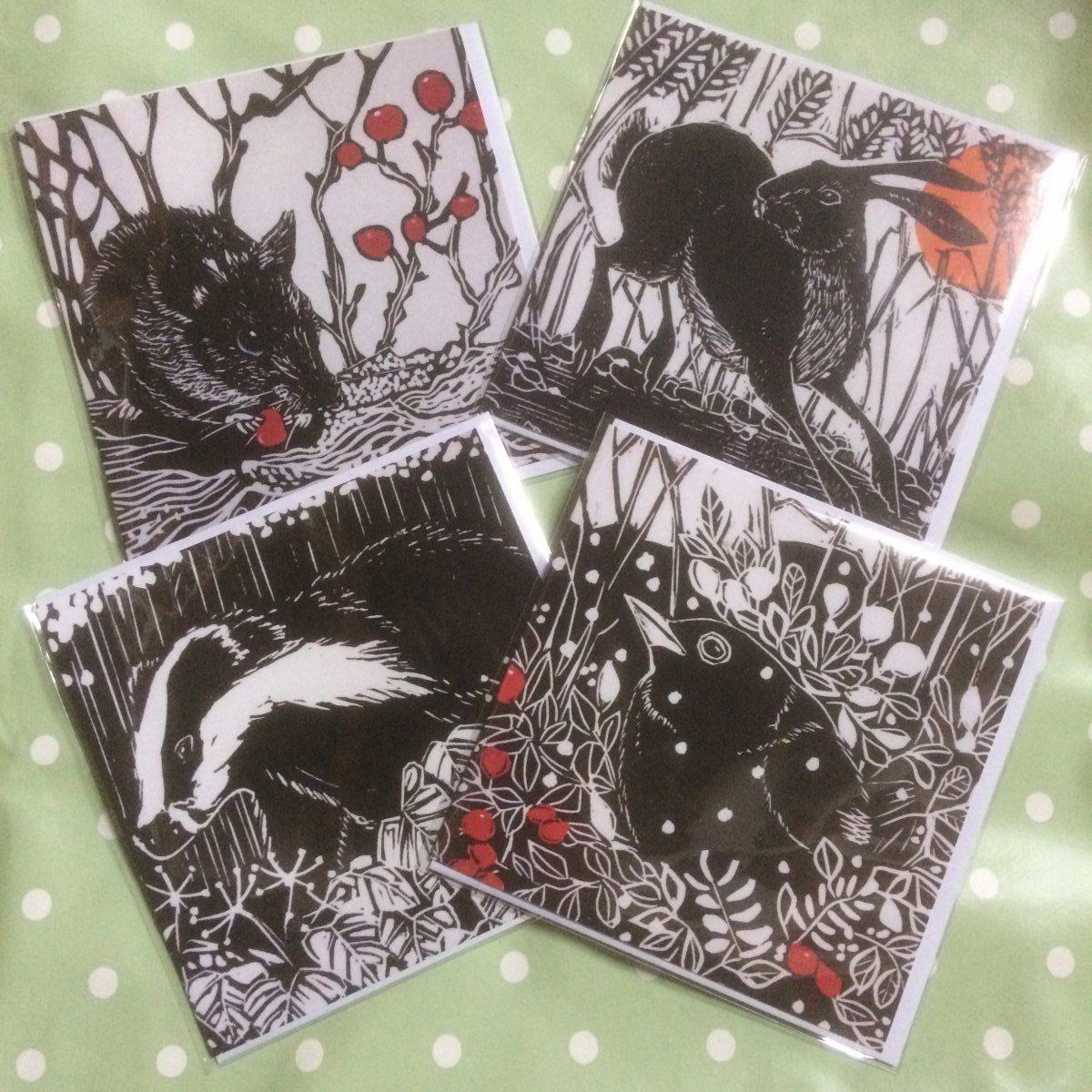 b&W cards2